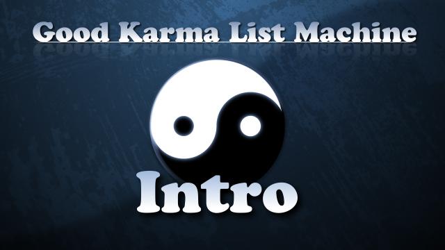 Good Karma List Machine Shoemoney